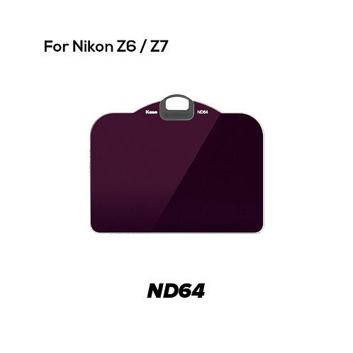 KASE Clip in Filter for Nikon Z6/Z7 (ND64)