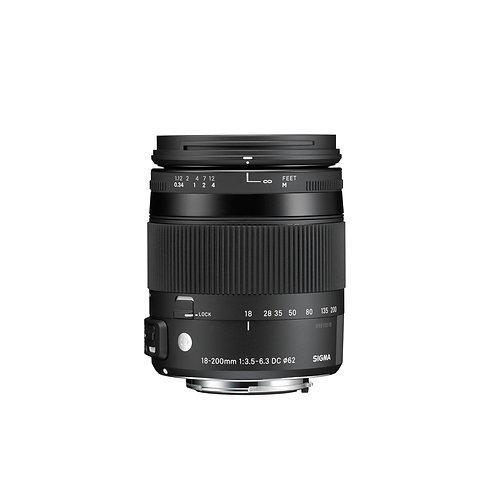 Sigma 18-200mm F/3.5-6.3 DC Macro OS HSM Contemporary