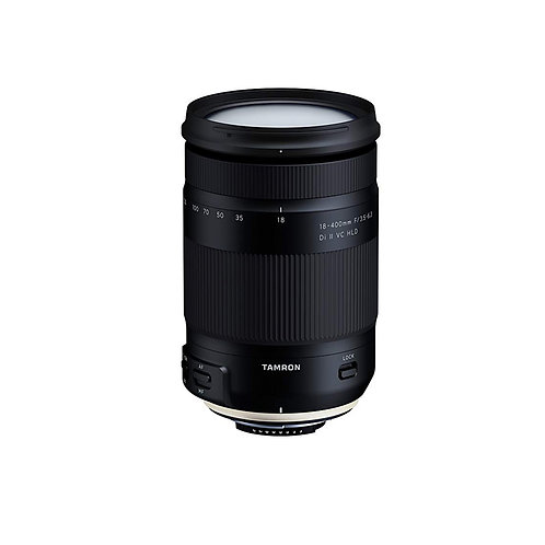 Tamron 18-400mm f/3.5-6.3 Di II VC HLD w/lens hood