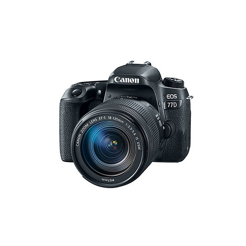 Canon EOS 77D Kit (EF S18-135 F/3.5-5.6 IS USM)