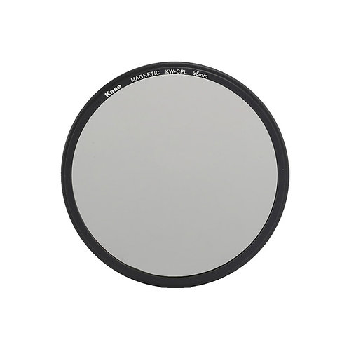 Kase Wolverine Magnetic Circular Polarizer Filter with 95mm Lens Adapter Ring