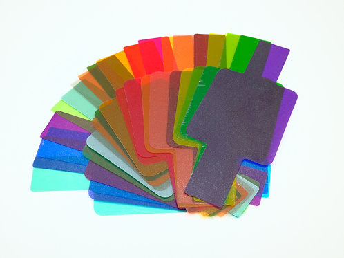 20 Color Flash gels