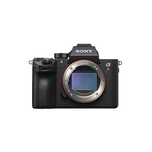 Sony α7R III 35mm full-frame camera with autofocus