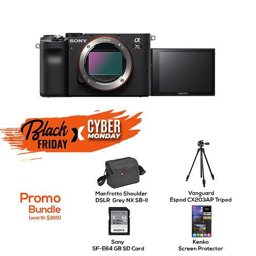 Sony Alpha 7C | Full-frame Mirrorless Interchangeable Lens Camera