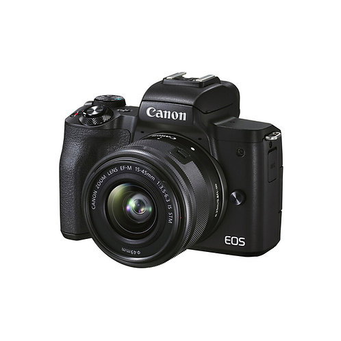 (Preorder- Deposit only) Canon EOS M50 Mark II (EF-M15-45mm)