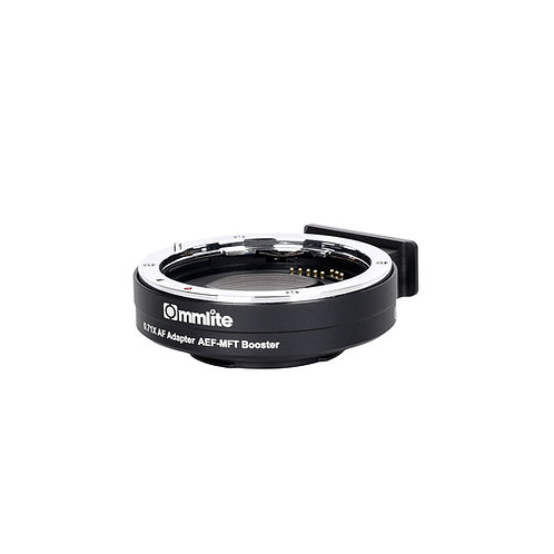 COMMLITE CM-AEF-MFT LENS ADAPTER EF TO M4/3 W/ELECTRONIC IRIS AND AF 0.71X SPEED