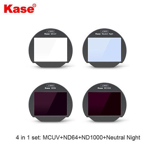 KASE Clip in Filter for Fujifilm (4 in 1 set)