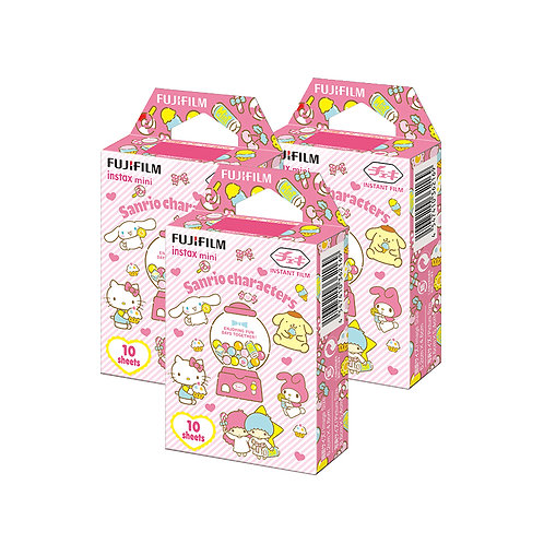 (3 Plus 1 Free) Fujifilm Instax Mini Film Sanrio