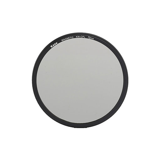 Kase Wolverine Magnetic Circular Polarizer Filter with 72mm Lens Adapter Ring