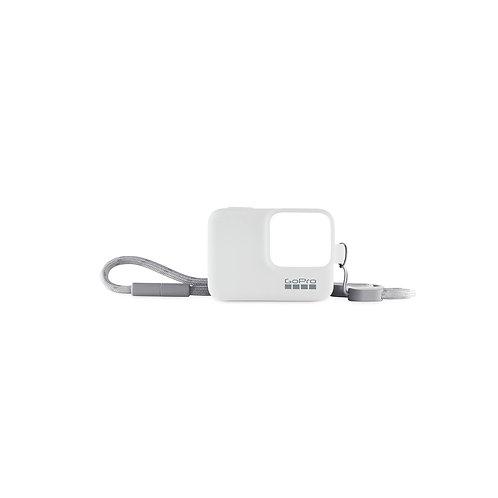 GoPro Sleeve + Lanyard (White)