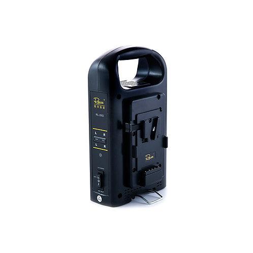 Rolux Dual Battery Charger RL-2KS for V-Mount Battery