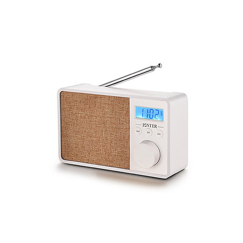 JONTER M35 Wireless Bluetooth Portable Speaker with FM Radio & Clock