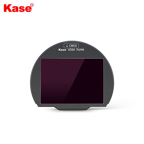 KASE Clip in Filter for Canon R5/R6 (ND64)