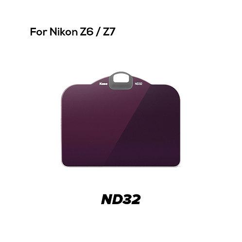 (Preorder) KASE Clip in Filter for Nikon Z6/Z7 (ND32)