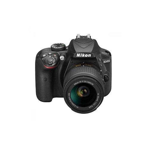 Nikon  D3400 + 18-55mm VR kit