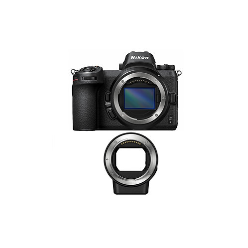 Z 7 + FTZ Mount Adapter