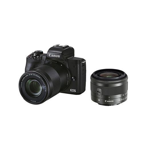 (Preorder- Deposit only) Canon EOS M50 Mark II (Duo lens Kit)