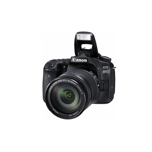 Canon EOS 80D Kit III (EF-S18-200 IS)