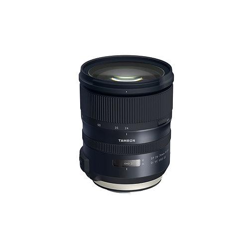 Tamron SP 24-70mm f/2.8 Di VC USD G2 w/HA032 lens hood