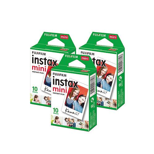 Fujifilm Instax Mini Film Single (3 Packs)