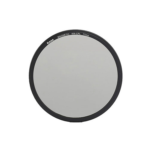 Kase Wolverine Magnetic Circular Polarizer Filter with 77mm Lens Adapter Ring