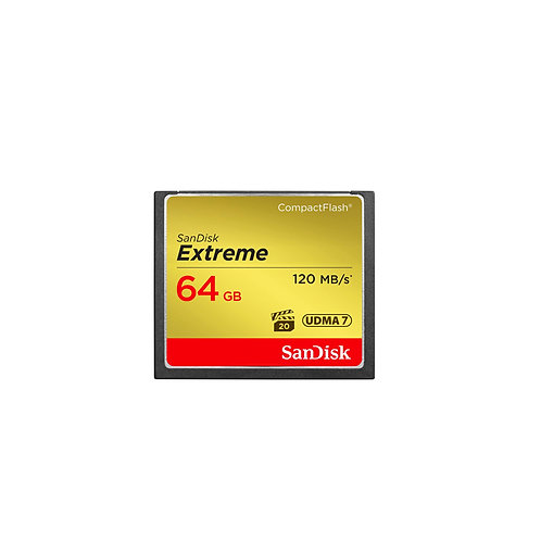 Sandisk Extreme Compact Flash 64GB 120MB