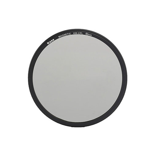 Kase Wolverine Magnetic Circular Polarizer Filter with 82mm Lens Adapter Ring