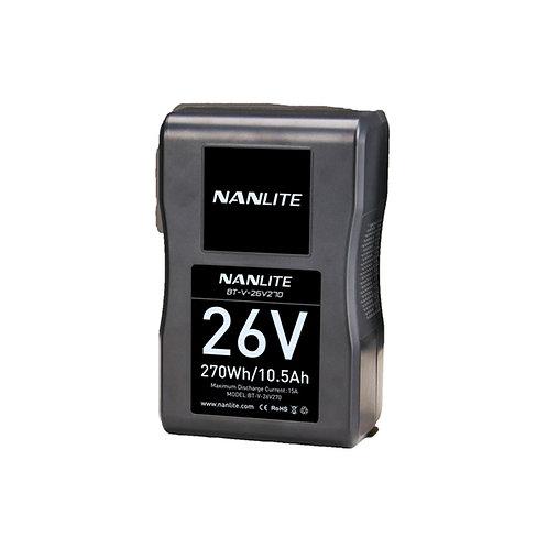 Nanlite 26V 270Wh Li-Ion V-Mount Battery