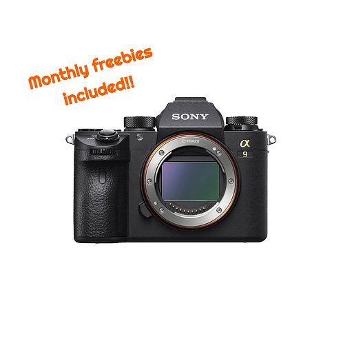 Sony α9 full frame mirrorless camera