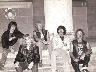 Obscure Florida 80s band STRYKER gets first re-issue in 2018