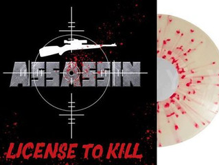 ASSASSIN - License to Kill soon to be released on vinyl