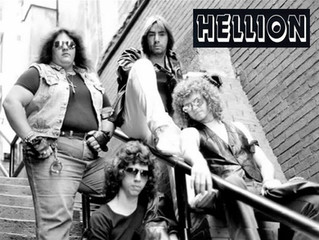 HELLION 'You're Not Wanted Here' get first CD release.