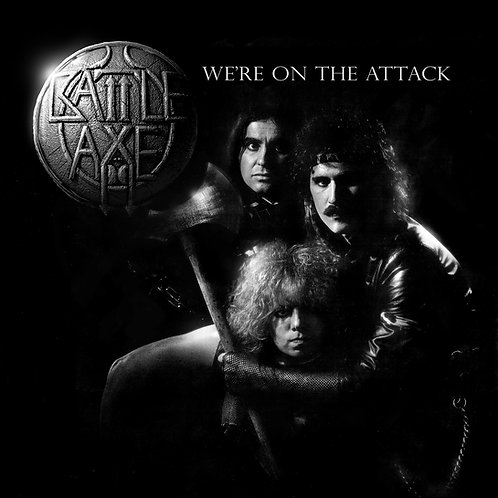 BATTLE AXE - We're on the Attack limited blue vinyl