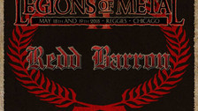 Classic Chicago band REDD BARRON announced to appear at Legions of Metal festival in 2018
