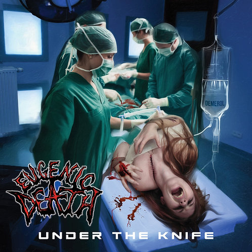 EUGENIC DEATH - Under the Knife limited black vinyl