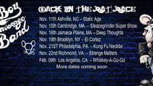 WHITE BOY & THE AVERAGE RAT BAND 'Back in the Rat Race' tour announced