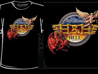 In Heaven & Hell We Trust limited shirts