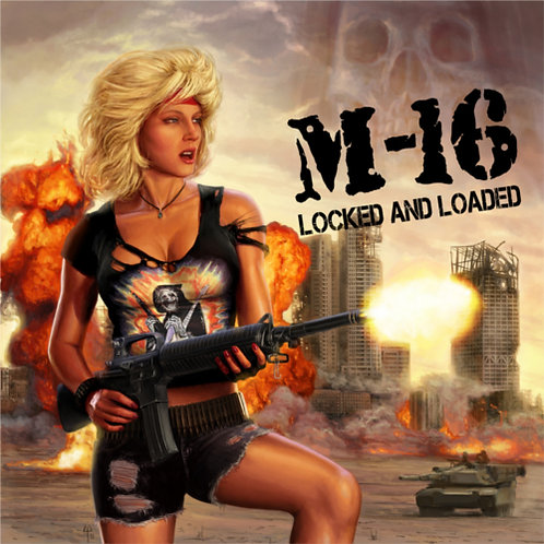 M-16 - Locked and Reloaded HHR022