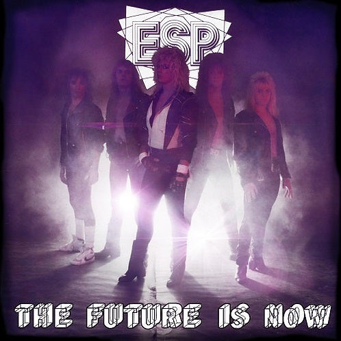 ESP - The Future is Now limited white vinyl