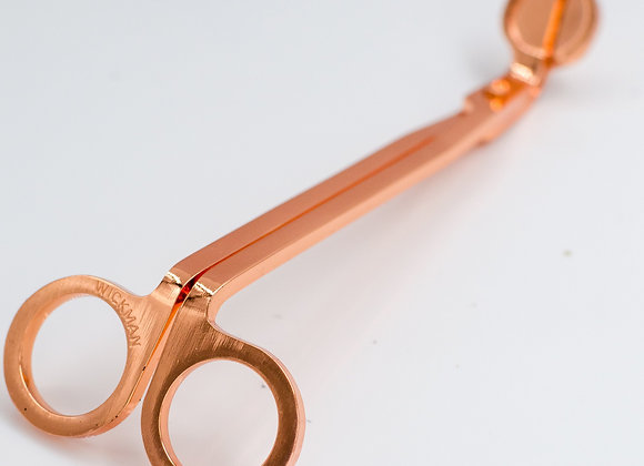 Stainless Steel/Rose Gold Polished Wick Trimmer