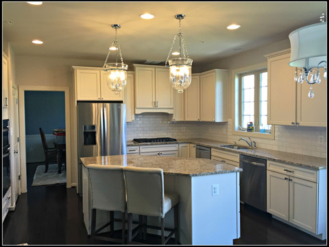 New Construction White Kitchen