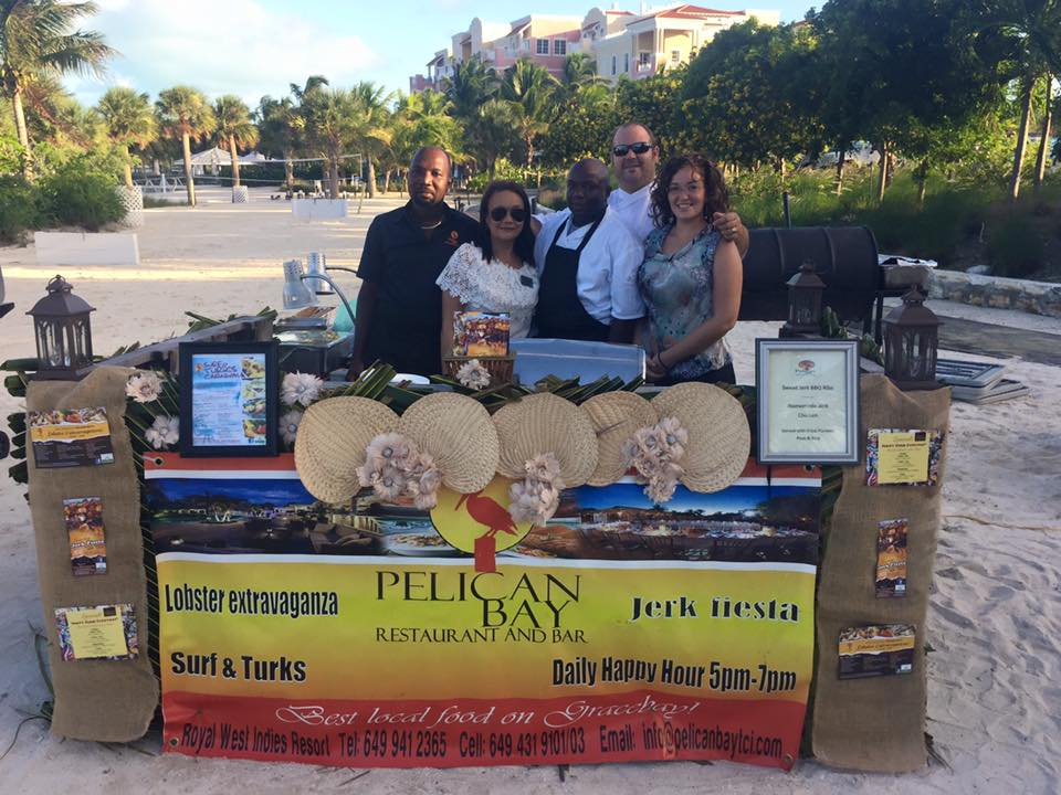 Caribbean food and wine festival 2015 - Chef, Myla, Byanka, Franky & Henry