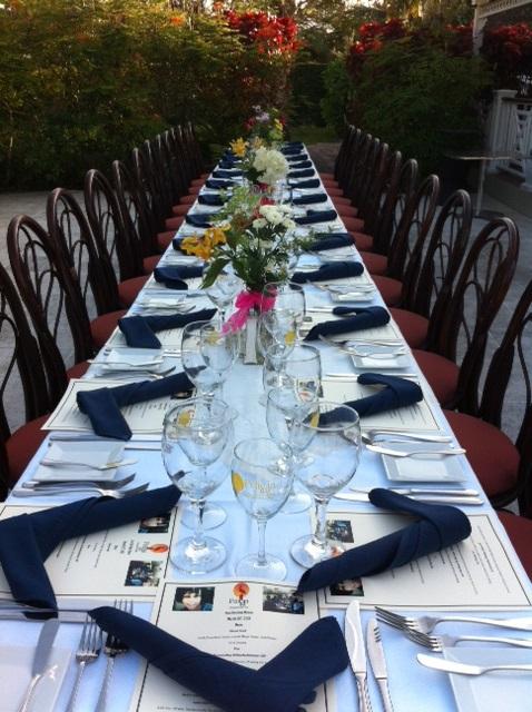 Groups dinner