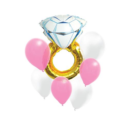 Diamond Ring Bouquet