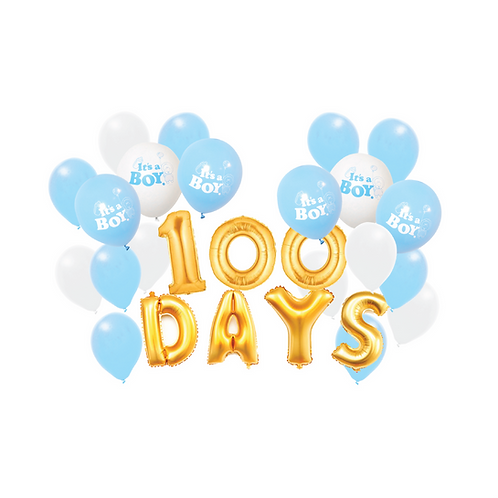 100 Days Baby BOY Celebrations Package