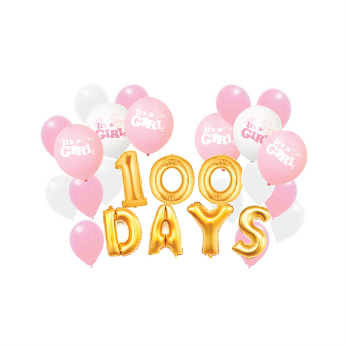 100 Days Baby Girl Celebrations Package