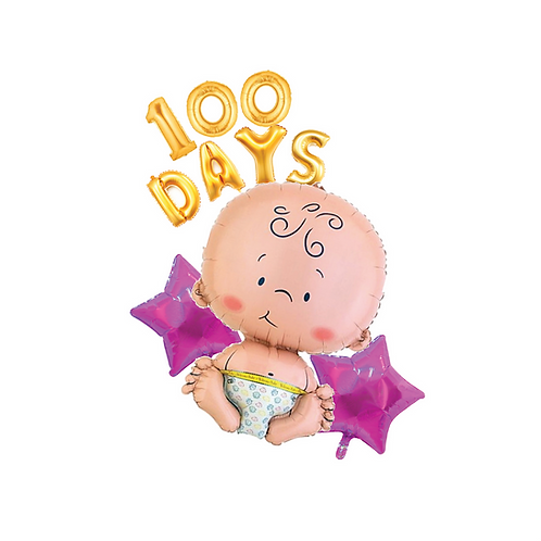100 Days Baby Girl Package