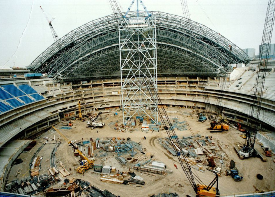 ROYALTHANE INC. worked with an engineering firm through the construction of the Rogers Centre (SKYDOME) to manufacture a passive Urethane seal for the retractable roof.