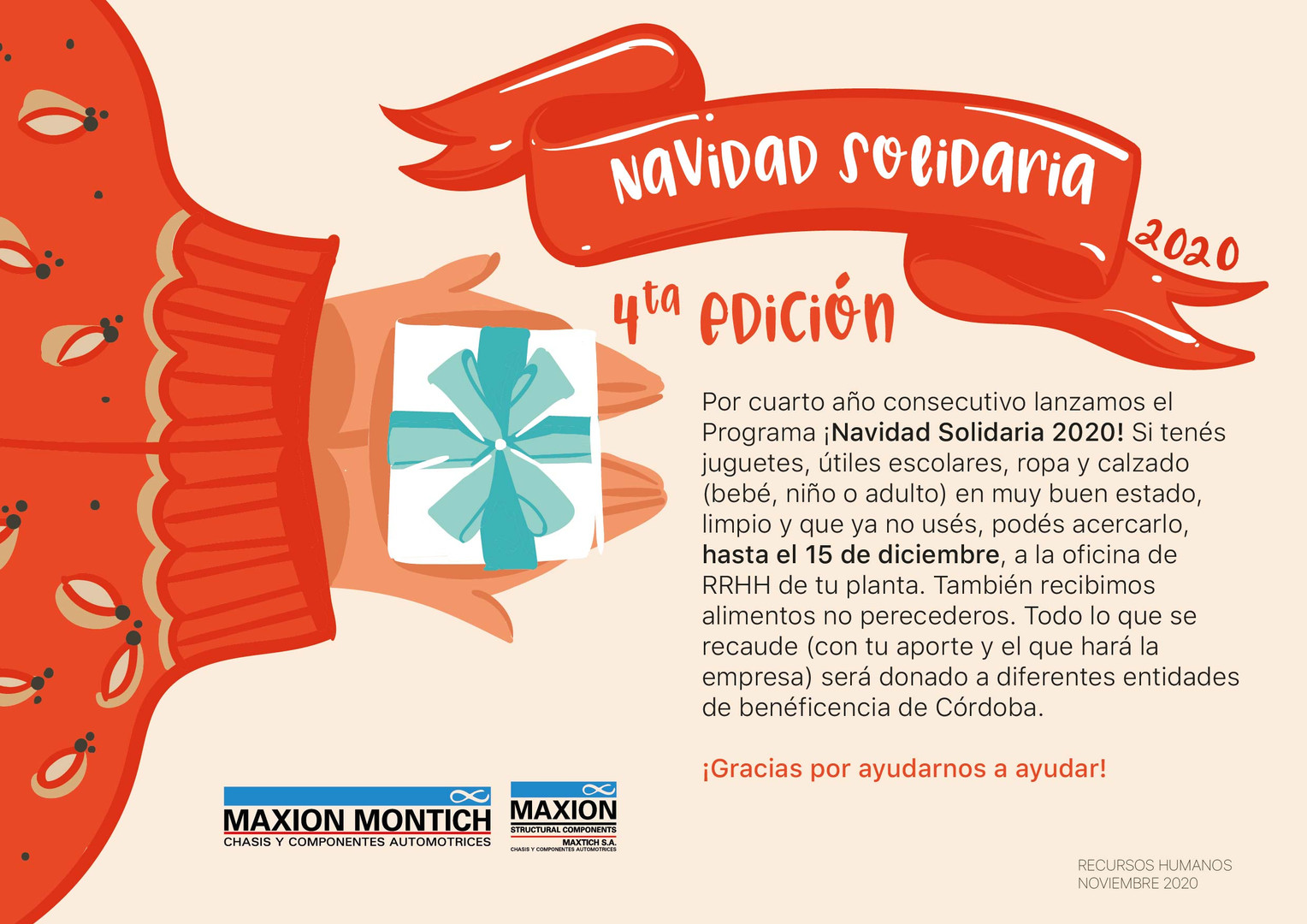 Navidad Solidaria 2020