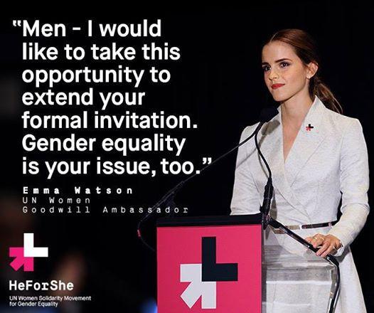 Emma Watson HeForShe Quote